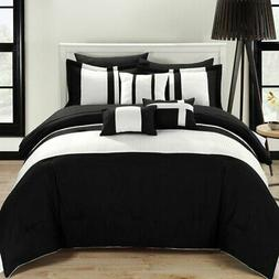 Chic Home Fiesta 10 Piece Bed in a Bag Comforter Set