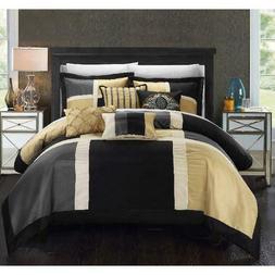 Chic Home Filomena 7-Piece Bedding Comforter Set, Multiple S