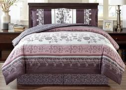 Grand Linen 4-Piece Fine printed Oversize Comforter Set Reve