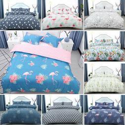 Floral Bedding Set Duvet Cover Set Comforter Cover Single Fu