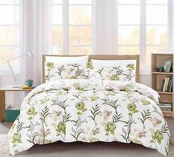 Forever Bloom 100% Cotton Printed Soft Comforter Set - Calif
