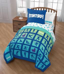 Fortnite Bedding Set For Boys Twin Full Comforter Sham Video