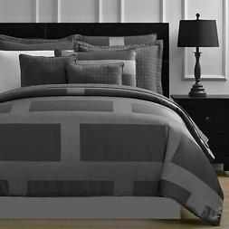 Frame Jacquard Microfiber 5-piece Full Queen & King Comforte