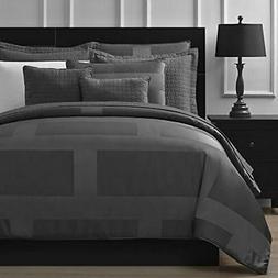 Frame Comforter Sets Jacquard Microfiber King 8-piece Set, G