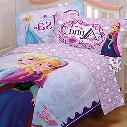 Disney Frozen Bedding Set Elsa Anna Celebrate Love Comforter