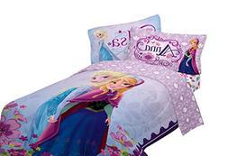 Disney Frozen Celebrate Love 76-Inch by 86-Inch Microfiber R