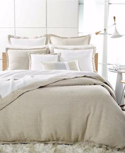 Hotel Collection Full/Queen Linen Comforter Cover Natural Di