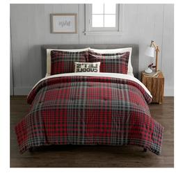 Cuddl Duds FULL/QUEEN size heavyweight flannel plaid comfort