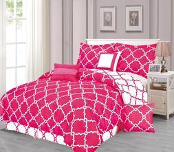 Galaxy 7-Piece Comforter Set Reversible Soft Oversized Beddi