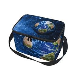 Galaxy Nebula Earth And Stars In Outer Space Unive Insulated