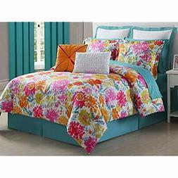 Garden Comforter Set, Full Home &amp Kitchen