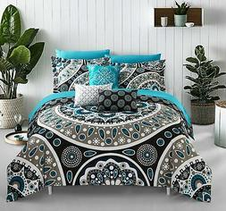 Chic Home Gaston 10 Piece Reversible Bed in a Bag Comforter