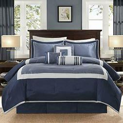 Madison Park Genevieve Queen Size Bed Comforter Set Bed in A
