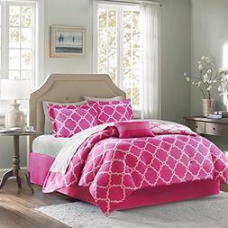 Geometirc Modern 7-Piece Reversible Comforter Set Soft Beddi