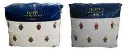 Polo Ralph Lauren Girl / Boy Teddy Bear Comforter Set Twin F