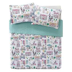 Comfort Spaces Girls/Boys Bedding Twin Size - Paco, Cats, Ei