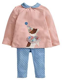 Fiream Girls Cotton Cute Print Long Sleeve Clothing Set