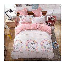 KFZ Girls Magic Unicorn Bed Set Twin Full Queen and Standard