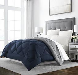 Sleep Restoration Goose Down Alternative Comforter - Reversi