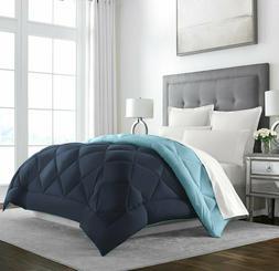 Sleep Restoration Goose Down Alternative Comforter, Reversib