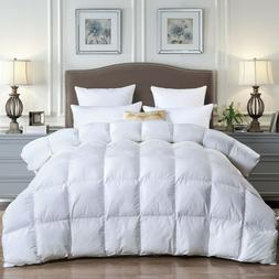 goose down feather comforter queen 600fill power