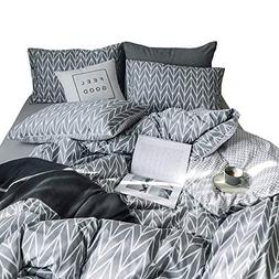 VClife Children Twin Bedding Sets Striped Geometric Pattern