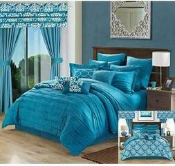 Chic Home Hailee 24 Piece Comforter Complete Bed in a Bag Sh