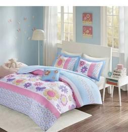 Comfort SpacesHappy Daisy Kid Comforter Set4 PieceFull
