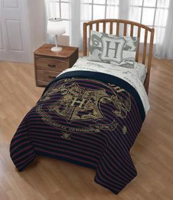 D.I.D. 4 Piece Kids Navy Red Stripes Harry Potter Comforter