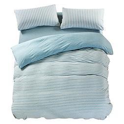 PURE ERA Duvet Cover Set Jersey Knit Cotton Home Bedding Set