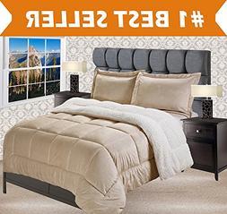 Elegant Comfort Premium Quality Heavy Weight Micromink Sherp