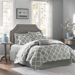 Empire Home 7 Piece Reversible Geometric Comforter Set All S