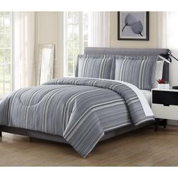 Home Bedroom Wesley Print Microfiber Sleeping Comforter Set