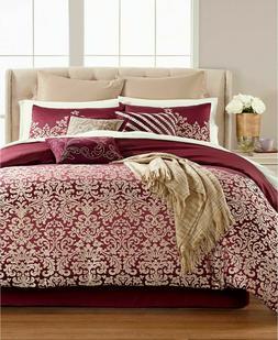 Martha Stewart Home QUEEN 13-Pc Comforter Set Antique Damask