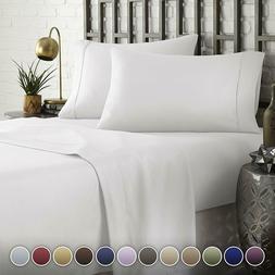 Hotel Luxury Comfort Bed Sheets Set 1800 Series Bedding Set,