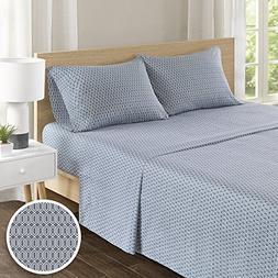 100% Hypoallergenic Cotton Sheets Set - Ultra Soft Diamond Q