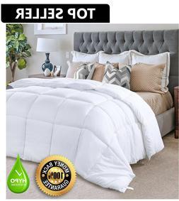 Hypoallergenic Down Alternative Comforter Duvet Insert White