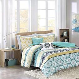 ID10-751 Arissa Comforter Set Twin XL Green, Twin/Twin X-Lar