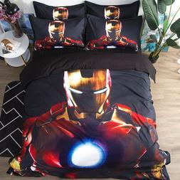 Iron Man Print Duvet/Comforter cover Bedding set polyster fi