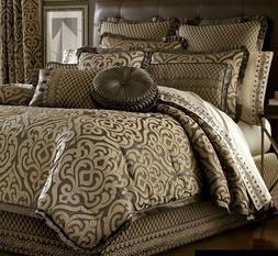 """J. Queen New York """"Luxembourg"""" Comforter Set in Mink, Queen"""