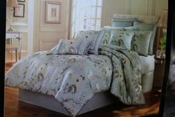 J Queen New York GEORGIA 7 PIECE Queen Size Comforter Set BR