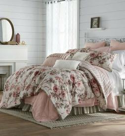 JCPenney Home Floral 4-pc Comforter Set Queen *NEW* Farmhous