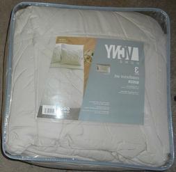 VCNY Home Julie 3-piece Comforter Set Ivory Queen