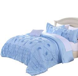 Cassiel Home Kayla Serenity College Dorm Bedding Set Twin XL