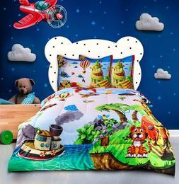 Utopia Bedding Kids Comforter Set with 2 Pillow Cases