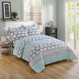 5/7Pcs Kids Comforter Set Girls Comforter Kids Bedding Set T
