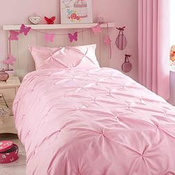 Horimote Home Kids Duvet Cover Twin, Baby Pink Duvet Cover S