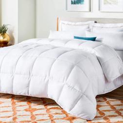Linenspa KING Size Alternative Quilted Comforter - Hypoaller