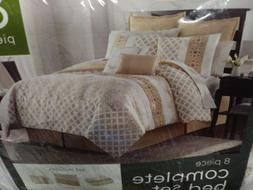 VCNY Home King Size Comforter Set Reversible in Natural Hand