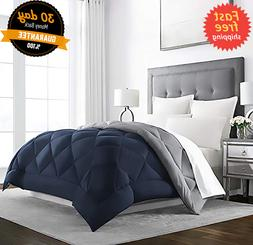 KING Size Heavy Comforter Goose Feather Down Warm Best Large